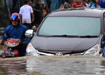 """Banjir Jakarta"" Paling Dicari di Google"